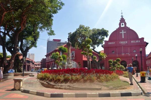 Christ Church - Town square