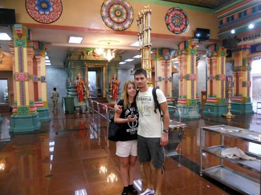 Visita al tempio indù di Kuala Lumpur