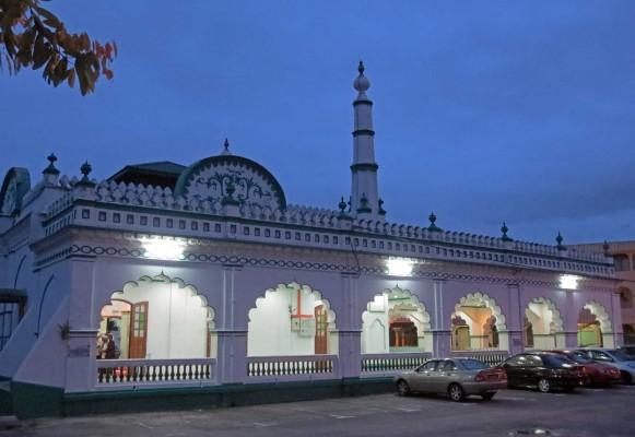 Moschea indiana a Ipoh - © 2014 Paolo Coluzzi